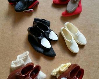 Barbie Ken best foot forward Japan loafers socks original pak accessories mint