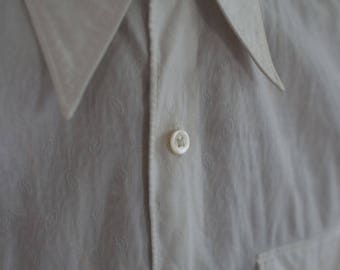 Amazing 1930s brocade dress shirt