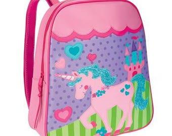 Personalized Stephen Joseph Go Go Unicorn Backpack