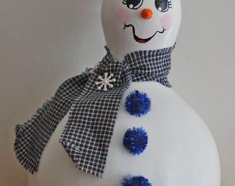 Snowman-Blue Buttons item #8