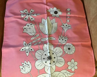 Soft Cotton and Canvas Backed changing pads in pink or white