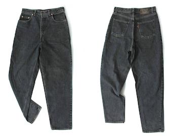 70s Levis Jeans / Black Levis Jeans / Vintage Levis Jeans / Levis Orange Tab / Man Levis Jeans / Levi Strauss Jeans / High Waisted Jeans