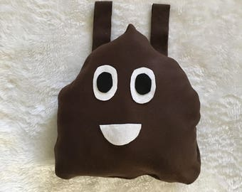 Poop Emoji, outfit of choice, costume, Halloween, pageant wear, unisex costume, baby, toddler, child sizes