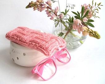 Pink Glasses Case. Eyeglasses Case. Sunglasses Case. Reading Glasses Case. Eyeglasses Holder. Sunglasses Holder.