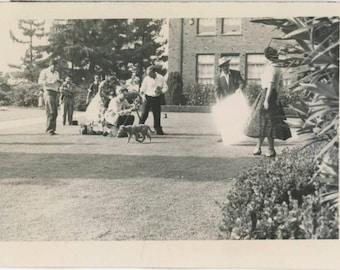 Photo Shoot, 1955 Vintage Snapshot Photo (61450)