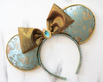 Princess Jasmine Inspired Minnie Mouse Ears