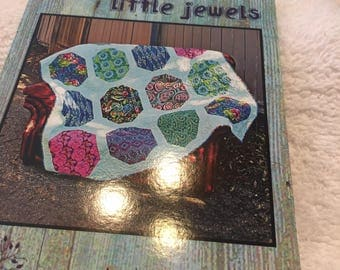 """Paper Pattern for a quilt called Little Jewels designed byVilla Rosa Designs 60"""" x 76"""""""