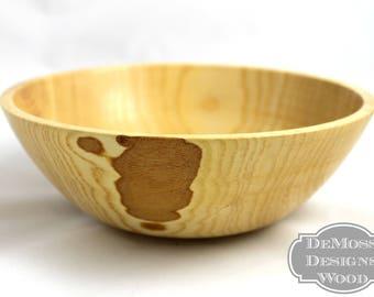 Ash Wood Bowl, Natural Decorative Bowl, Wood Decor, Wood Turned Art, Ash Wood Decorative Bowl, Lathe Turned Bowl