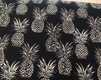 Fabric by the yard,Hawaiian Pineapples - Cotton