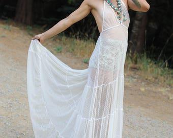 Sugar Magnolia Mesh Dress