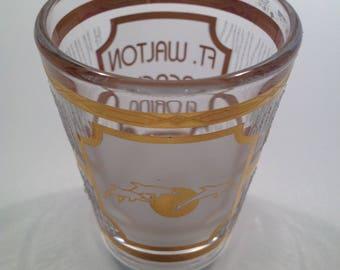 Vintage Culver Shot Glass Ft. Walton Beach Florida