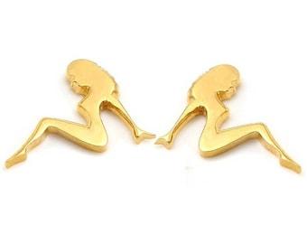 ON SALE MUDFLAP Girl Petite Stud Earrings