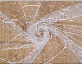 Fabric lace trim,  fabric trim,  net lace, size:150cm x 0.5 metre, wedding lace