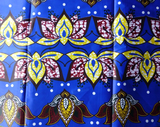 African Fabrics Java Wax Print Cotton Fabrics For Dress &Craft Making Sewing Fabric /Kitenge/Pagnes/Kikwembe Sold By Yard