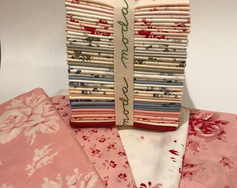 40 Piece Fat Quarter Bundle of Cabbages & Roses by Northcote Range for Moda