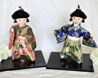 Set of Two Kyugetsu Dolls/Figures