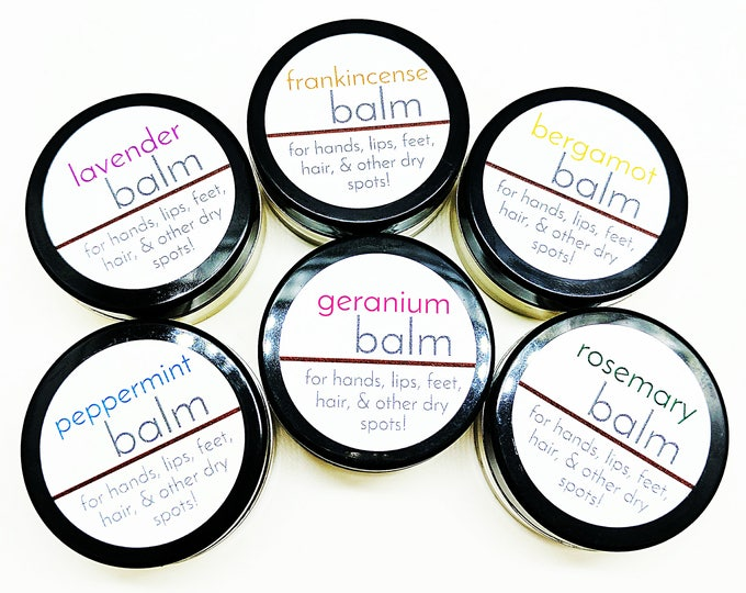 Essential Oil Mini Balms