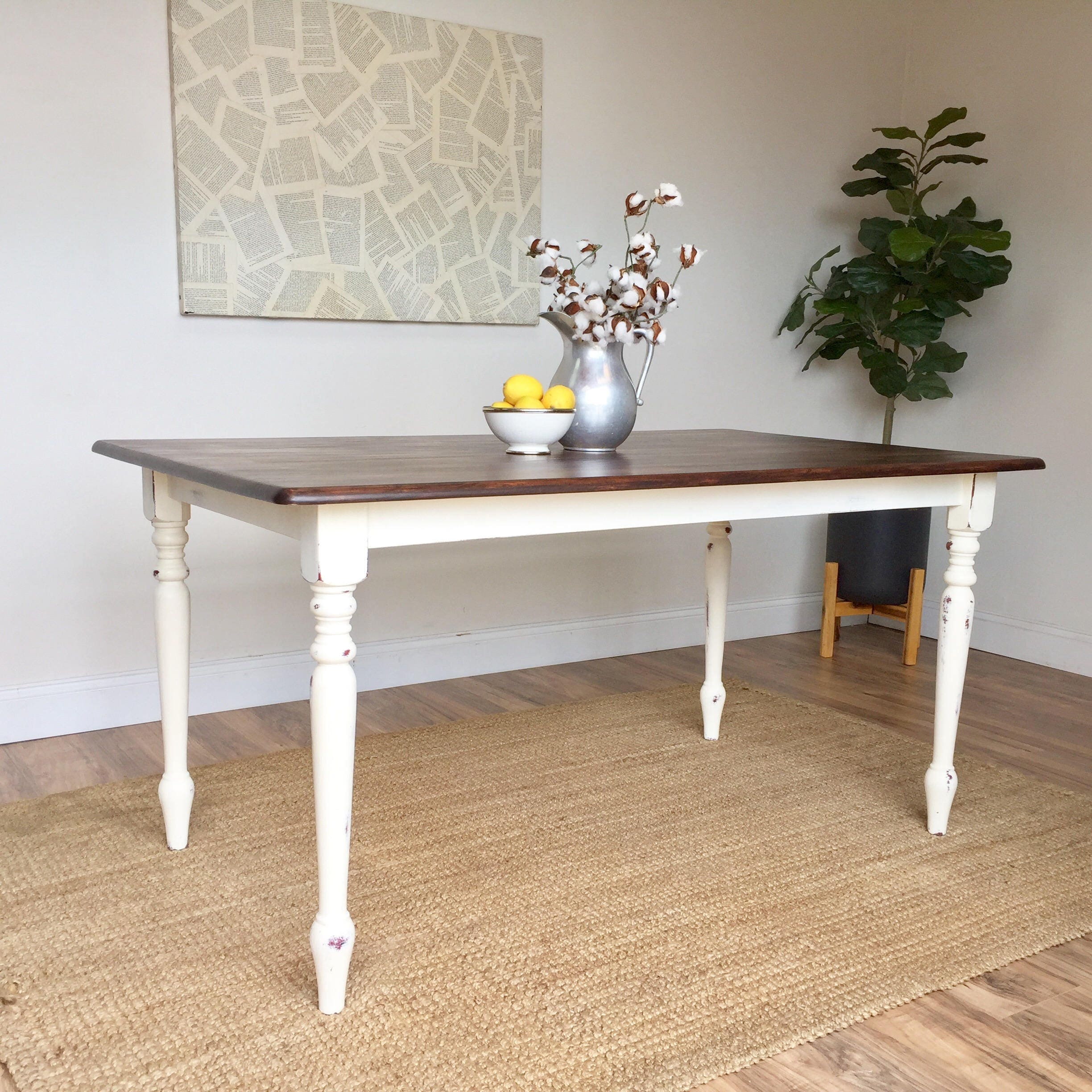 distressed kitchen table small white dining table