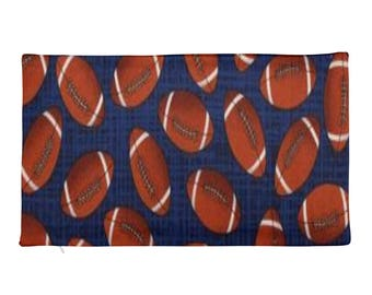 Football Rectangular Pillow Case only