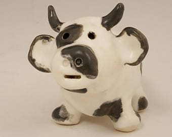 Ceramic Cow Whistle Handmade