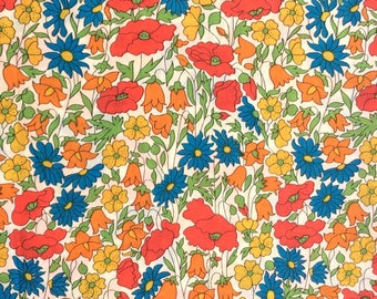 Poppy and Daisy M - Liberty London Tana lawn fabric