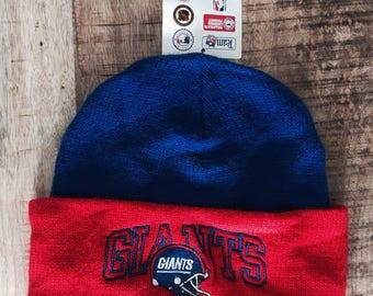 Vintage New York Giants Acrylic Wool Hat