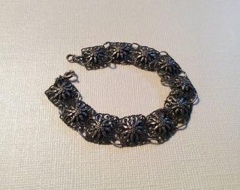 Vintage filigree bracelet