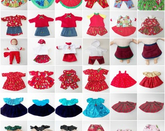 "american made bitty baby doll clothes 15 inch,twin, 18"" doll, 36 CHOICES- Christmas Winter collection, adorabledolldesigns- dress pants NEW"