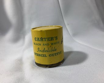 Carter's Black and White Indelible Stencil Outfit In A Can