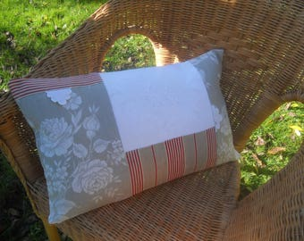 Reserved.   Reserved.. .an removable linen old beautiful EL monograms and fabrics French swags