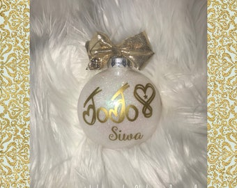 Jojo Siwa Bow Ornament