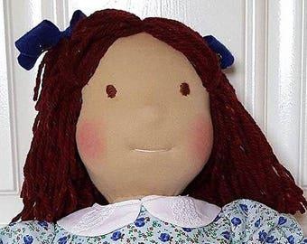 Maya - 21 inch Waldorf inspired doll