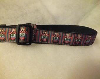 "Southampton FC pet collar - fits 12.5"" to 19.5"""