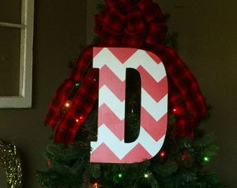 initial wreaths for front doorLetter wreaths  Etsy