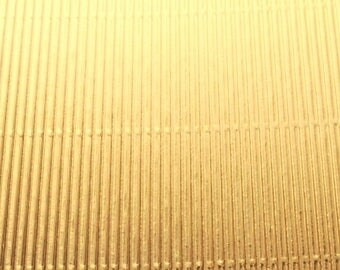 1 sheet of corrugated cardboard Golden aluminum 16 5x23cm