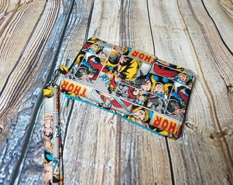 Thor Comic Strip Inspired Pearl Wallet