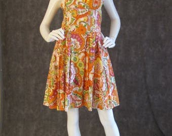 Print Cotton Sundress
