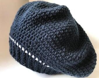 Crochet Slouch Beanie Hat