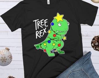 Tree Rex, Dinosaur Christmas, Christmas Dinosaur, Tyrannosaurus Rex, TRex Christmas Shirt, Dinosaur Shirt, Funny Christmas TRex