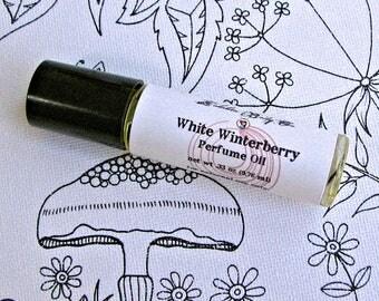 Mulberry Perfume Oil - White Winterberry Perfume - Fruity Perfume - Christmas Perfume - Winter Perfume - Handmade