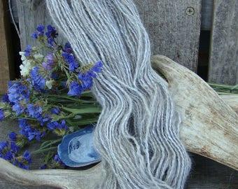 Hand Spun Opal French Angora Rabbit Yarn
