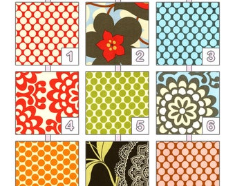 Changing Pad Cover ... { Lotus } Amy Butler