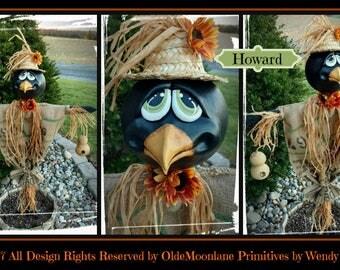Howard Garden Crow Instant download pattern
