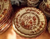 "Spode ""India Tree"" made in England: small bread&butter or dessert plates. New backstamp"