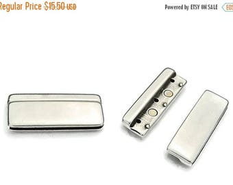 30% OFF 50MM Magnetic Clasp - Antique Silver - 50x2MM - Qty. 1