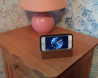Repurposed White Oak Cell Phone Stand