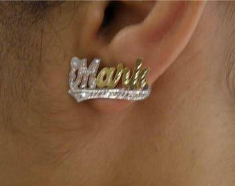 Single Plated stud Earrings