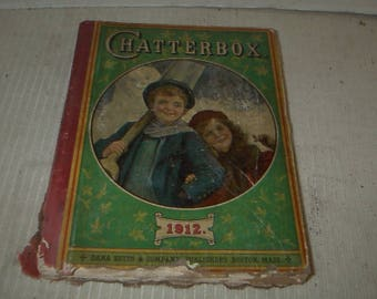 Antique 1912 Chatterbox Box
