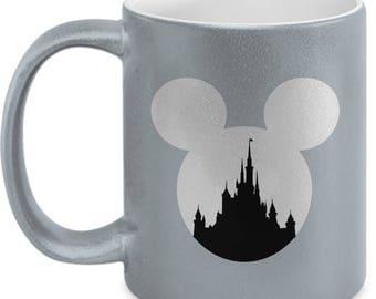 Magic Castle Mouse Mug Gift Love Fan Fanatic Magical Coffee Cup