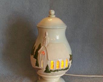 Accent Lamp - Christmas Theme - Village Theme